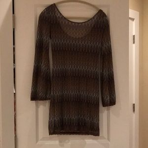 Free People Dress with low back and slip included